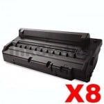 8 x Compatible Samsung ML-1710D3 Black Toner Cartridge - 3,000 pages