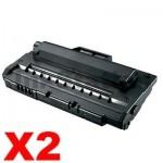 2 x Compatible Samsung ML-2250D5 Black Toner Cartridge - 5,000 pages
