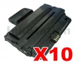 10 x Compatible Samsung ML-D2850B Black Toner Cartridge SU656A - 5,000 pages