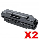 2 x Compatible Samsung ML5010ND Extra High Yield Toner Cartridge SV059A - 20,000 pages (MLT-D307E 307)