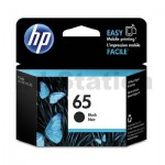 HP 65 Genuine Black Inkjet Cartridge  N9K02AA - 120 Pages