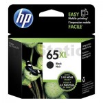 HP 65XL Genuine Black High Yield Inkjet Cartridge N9K04AA - 300 Pages