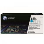 HP CE341A (651A) Genuine Cyan Toner Cartridge  - 13,500 Pages