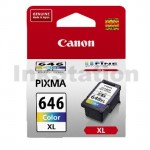 Canon CL-646XL Genuine Colour High Yield Ink Cartridge - 400 pages