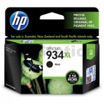 1 x HP 934XL Genuine Black High Yield Inkjet Cartridge C2P23AA - 1,000 Pages