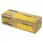 Genuine Samsung SLC3010ND SLC3060FR Yellow Toner Cartridge SU493A - 5,000 pages [CLT-Y503L Y503]