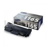 1 x Samsung SLM2825DW/ 2835DW/ 2875FW/ 2885FW (MLT-D116S) Genuine Black Standard Toner Cartridge SU842A - 1,200 pages