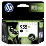 HP 955XL Genuine Black High Yield Inkjet Cartridge L0S72AA - 2,000 Pages
