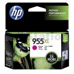 HP 955XL Genuine Magenta High Yield Inkjet Cartridge L0S66AA - 1,600 Pages