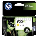 HP 955XL Genuine Yellow High Yield Inkjet Cartridge L0S69AA - 1,600 Pages