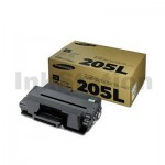 1 x Genuine Samsung ML-3310/ ML-3710/ SCX-4833/ SCX-5637/ SCX5737 (MLT-D205L 205) Black High Yield Toner SU965A - 5,000 pages