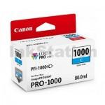 Genuine Canon PFI-1000C Cyan Ink Cartridge