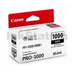 Genuine Canon PFI-1000MBK Matte Black Ink