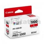 Genuine Canon PFI-1000R Red Ink Cartridge