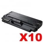 10 x Compatible Samsung ML-D1630A Black Toner Cartridge - 2,000 pages