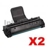 2 x Compatible Samsung SCX-4521F Black Toner Cartridge - 3,000 pages (SCX-4521D3)