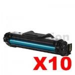 10 x Samsung SCX4655 (MLT-D117S 117) Compatible Black Toner SU853A - 2,500 pages