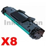 8 x Compatible Samsung SCX-D4725A Black Toner Cartridge