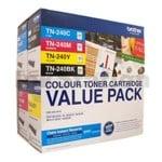 Value Pack - Brother TN-240CL4PK Genuine Toner [1BK,1C,1M,1Y]