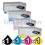 4 Pack Genuine Fuji Xerox DocuPrint C2200, C3300dx Toner Cartridges (CT350674-CT350677)