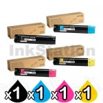 4 Pack Fuji Xerox Phaser 6700dn Genuine Toner Combo [1BK,1C,1M,1Y] - (106R01515-106R01518)