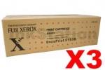 3 x Fuji Xerox DocuPrint 5105D Genuine Black Toner Cartridge - 15,000 pages (CT202338)