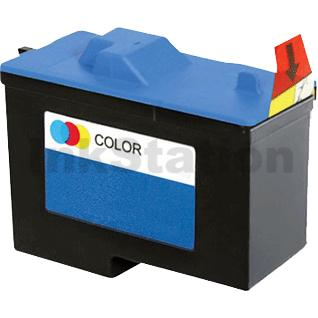1 x Dell A940 A960 Colour (7Y745) Compatible Inkjet Cartridge