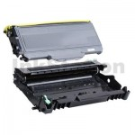 Brother Compatible TN-2150 Toner Cartridge + Compatible DR-2125 Drum Unit Combo