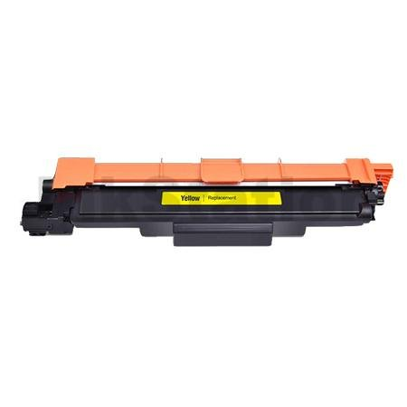 Brother TN-257Y Compatible Yellow High Yield Toner Cartridge - 2,300 pages