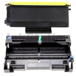 Brother Compatible TN-3185 Toner Cartridge + Compatible DR-3115 Drum Unit Combo