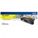 Genuine Brother TN-346Y Yellow High Yield Toner Cartridge - 3,500 pages