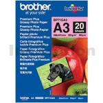 Brother BP71GA3 Genuine Glossy Paper 260gsm A3 - 20 sheets