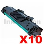 10 x Samsung ML-2010D3 Compatible Black Toner Cartridge - 3,000 pages