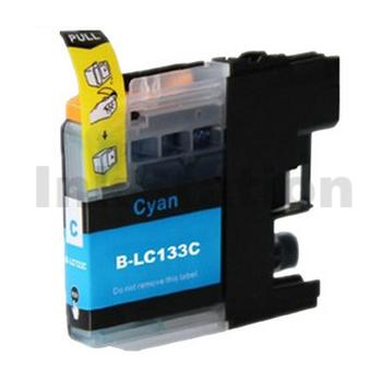 Compatible Brother LC-133C Cyan Ink Cartridge - 600 Pages