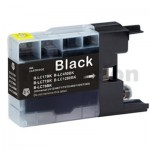 Brother LC73/LC77XLBK Compatible Black High Yield Ink Cartridge - 1,200 pages