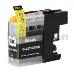 Compatible Brother LC-137XLBK Black Ink Cartridge - 1,200 Pages