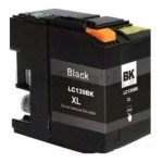 Compatible Brother LC-139XLBK Black Ink Cartridge - 2,400 pages