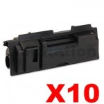 10 x Non-Genuine TK-18 Black Laser Toner Cartridge For Kyocera FS-1020D, FS-1020DN, FS-1118MFP, KM-1500, KM-1815, KM-1820 - 7,200 pages