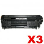 3 x Canon CART-303 Black Compatible InkStation Toner Cartridge 2,000 Pages