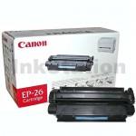 1 x Canon EP-26 Black Genuine Toner Cartridge - 2,500 pages