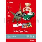 Canon MP-101 Genuine Matte Photo Paper 170gsm A4 - 50 sheets