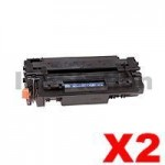 2 x Canon CART-310II Black Compatible Toner Cartridge 12,000 Pages