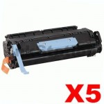 5 x Canon CART-306 Black  Compatible Toner Cartridge
