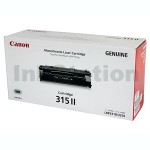 1 x Genuine Canon CART-315II High Yield Black Toner Cartridge 7,000 Pages