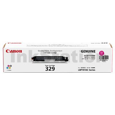 Canon LBP 7018C (CART-329M) Genuine Magenta Toner Cartridge - 1,000 Pages