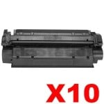 10 x Canon CART-U Black Compatible Toner Cartridge - 2,500 pages