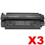 3 x Canon CART-U Black Compatible Toner Cartridge - 2,500 pages