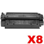 8 x Canon CART-U Black Compatible Toner Cartridge - 2,500 pages