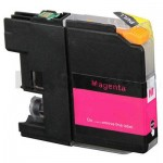 Brother LC-233M Magenta Compatible Ink Cartridge - 550 pages