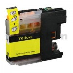 Brother LC-233Y Yellow Compatible Ink Cartridge - 550 pages